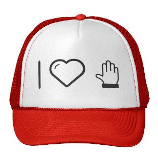 I dedos del corazón cinco gorras