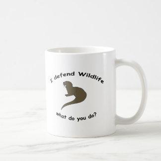 i defend wildlife coffee mugs