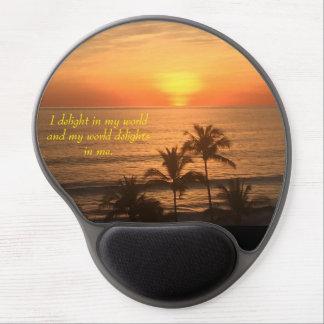 I Delight Affirmation - Gel Mouse Pad