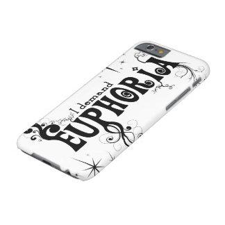 I Demand Euphoria - Black Swirls, Stars, Fireworks Barely There iPhone 6 Case