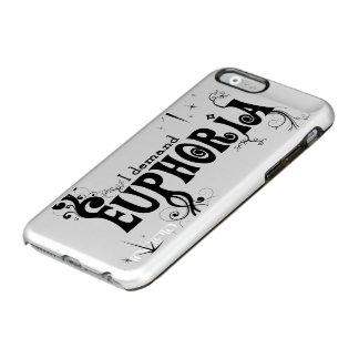 I Demand Euphoria - Black Swirls, Stars, Fireworks Incipio Feather Shine iPhone 6 Case