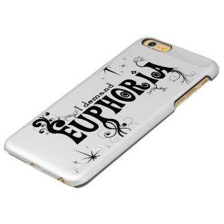 I Demand Euphoria - Black Swirls, Stars, Fireworks Incipio Feather Shine iPhone 6 Plus Case