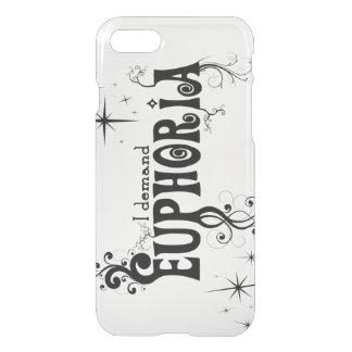 I Demand Euphoria - Black Swirls, Stars, Fireworks iPhone 8/7 Case