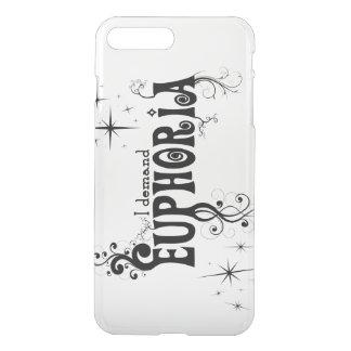 I Demand Euphoria - Black Swirls, Stars, Fireworks iPhone 8 Plus/7 Plus Case
