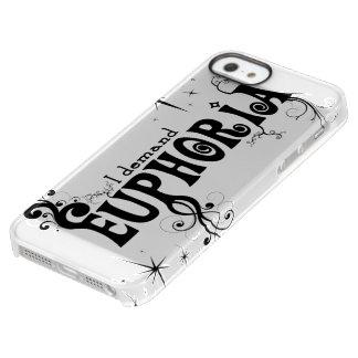 I Demand Euphoria - Black Swirls, Stars, Fireworks Permafrost iPhone SE/5/5s Case