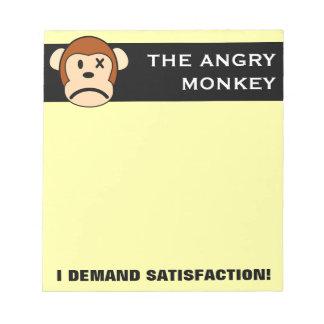 I demand satisfaction notepad