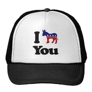 I Demócrata usted Gorra