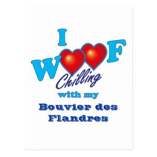 I DES Flandres de Bouvier del tejido Tarjetas Postales