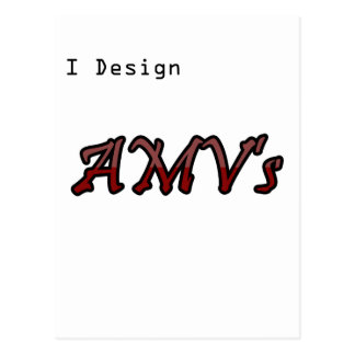 I design AMV's Postcard