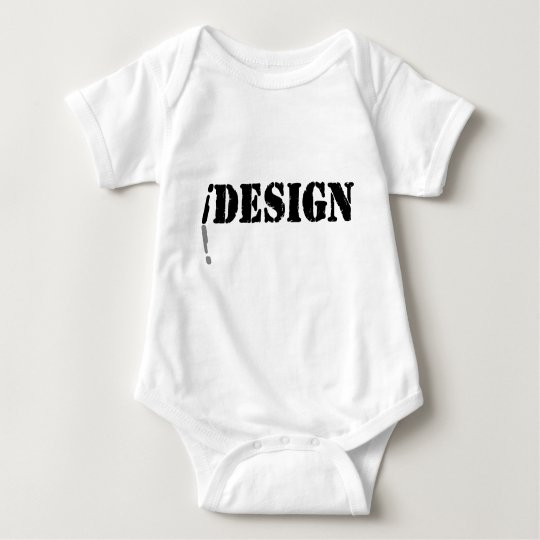 I design baby bodysuit