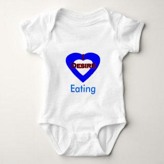 I Desire Eating Baby Bodysuit