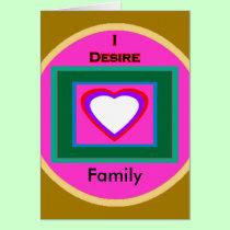 I Desire Family cards