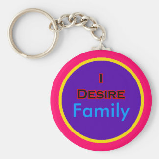 I Desire Family Key Chain