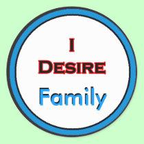 I Desire Family stickers