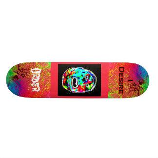 I Desire Order Freak Face Skate Board Deck