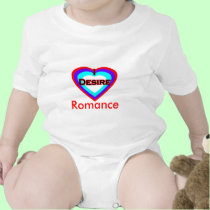 I Desire Romance t-shirts