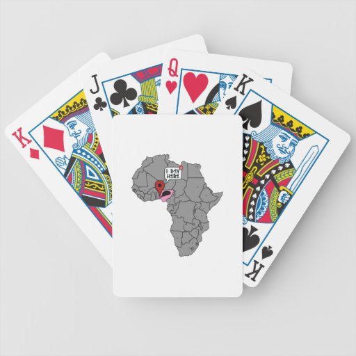 I dey here bicycle poker deck