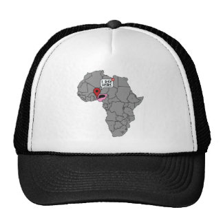 I dey here trucker hat