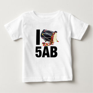 I ( Dhol ) 5AB Baby T-Shirt
