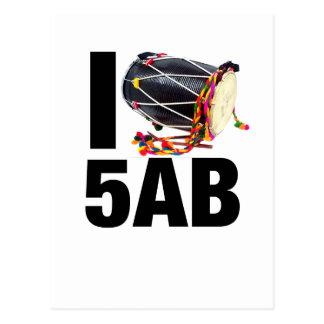 I ( Dhol ) 5AB Postcard