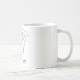 I dialogue in prospect of the pupil giving lesson  classic white coffee mug