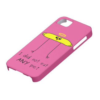 I did not eat ANY pie chick iPhone SE/5/5s Case