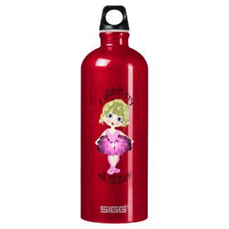I didn't cry, well, not much! cute pink ballerina SIGG traveler 1.0L water bottle