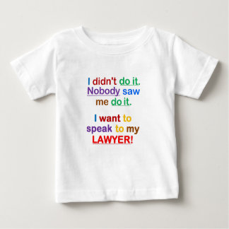 i didn't do it baby T-Shirt
