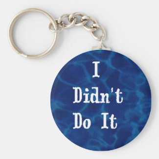 I didn't do it keychain