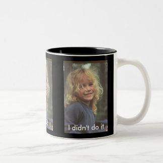 I didn't do it mugs
