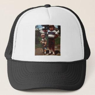 I didn't do it! trucker hat