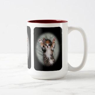 I didnt do it Two-Tone coffee mug