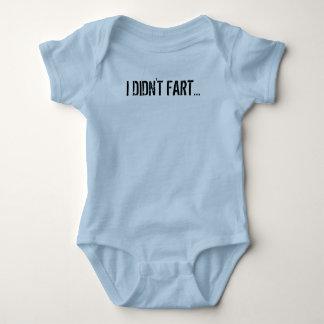 I Didn't Fart... Baby Bodysuit