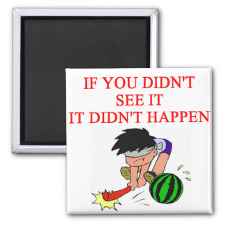 i didn't so it! 2 inch square magnet