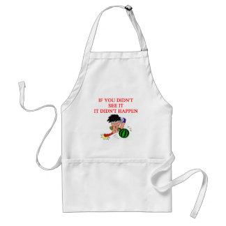 i didn't so it! adult apron