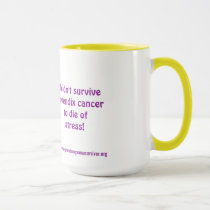 I didn't survive appendix cancer ... Ringer Mug