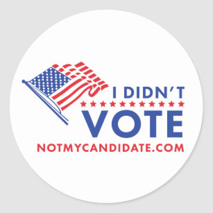 picture relating to I Voted Stickers Printable identify I Voted Stickers Zazzle