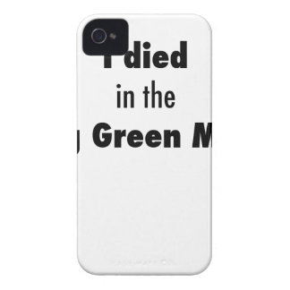 I Died in the Bowling Green Massacre iPhone 4 Case-Mate Case