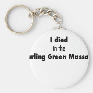 I Died in the Bowling Green Massacre Keychain