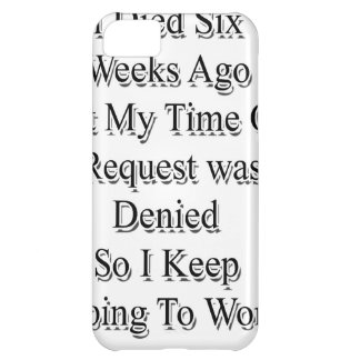 I died.png iPhone 5C cases