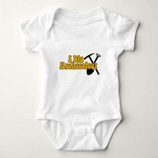 I Dig Archaeology Baby Bodysuit