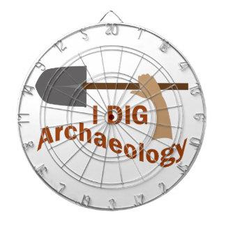 I DIG ARCHAEOLOGY DARTBOARDS