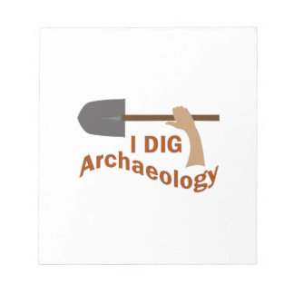 I DIG ARCHAEOLOGY NOTEPAD