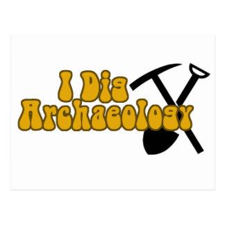 I Dig Archaeology Postcard