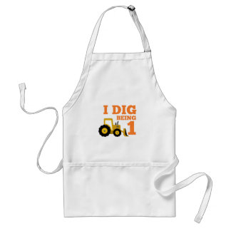 I Dig Being 1 Adult Apron