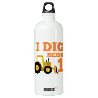 I Dig Being 1 Aluminum Water Bottle