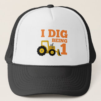 I Dig Being 1 Trucker Hat