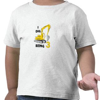I dig being 3 tee shirts