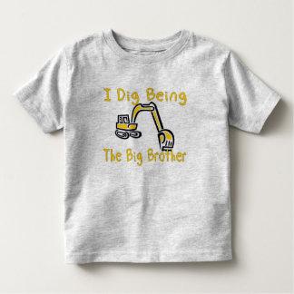 i dig big brother toddler t-shirt