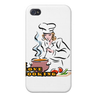 I Dig Cooking Chef Cover For iPhone 4